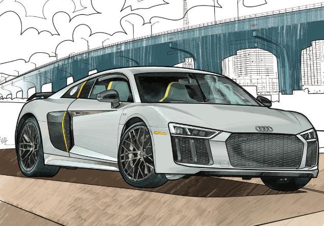 disegnare auto a colori