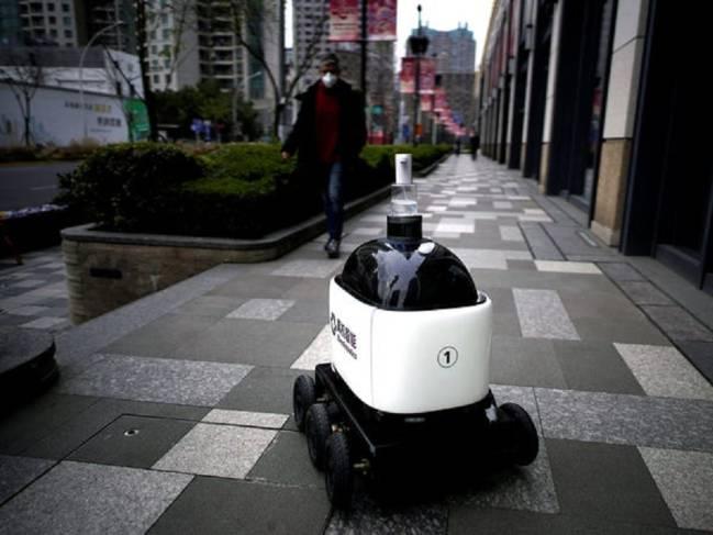 robot pulizia strade virus