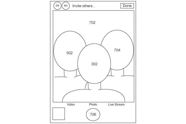 apple brevetto selfie
