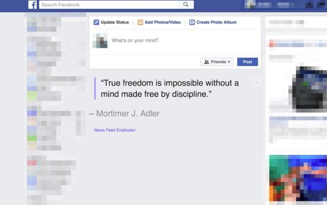 News Feed Eradicator for Facebook