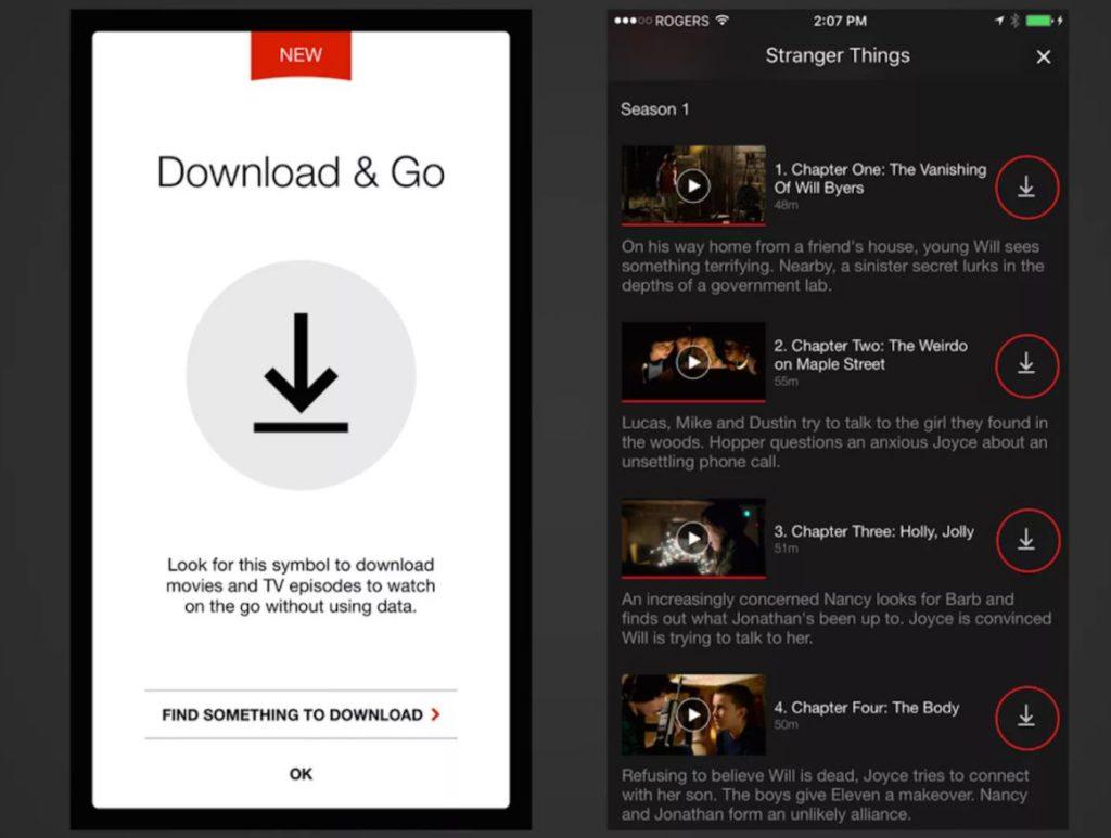 download film da netflix