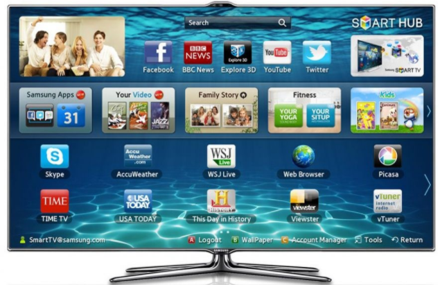 google play samsung smart tv
