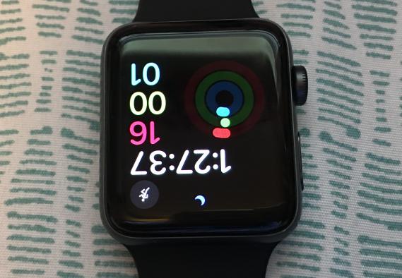 capovolgere lo schermo del tuo Apple Watch