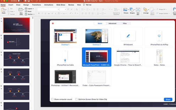 Come condividere sullo schermo una presentazione di PowerPoint in Zoom