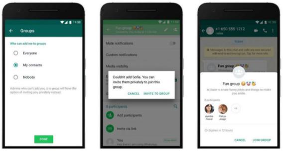 Come impedire alle persone di aggiungerti ai gruppi WhatsApp