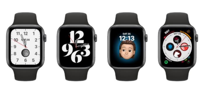 personalizzazione del quadrante dell'orologio su Apple Watch