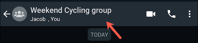 Visita il profilo del gruppo WhatsApp