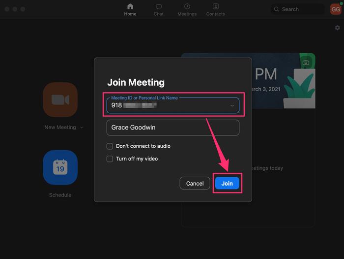 riunione su zoom come fare
