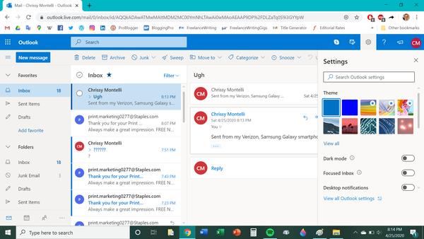 Come uscire dall'ufficio su Outlook 1