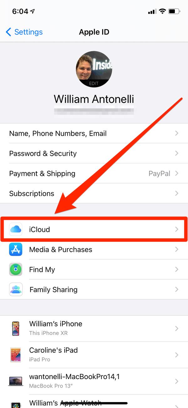 come eliminare i contatti dell'iPhone 6