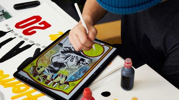 Apple iPad Apple Pencil Art