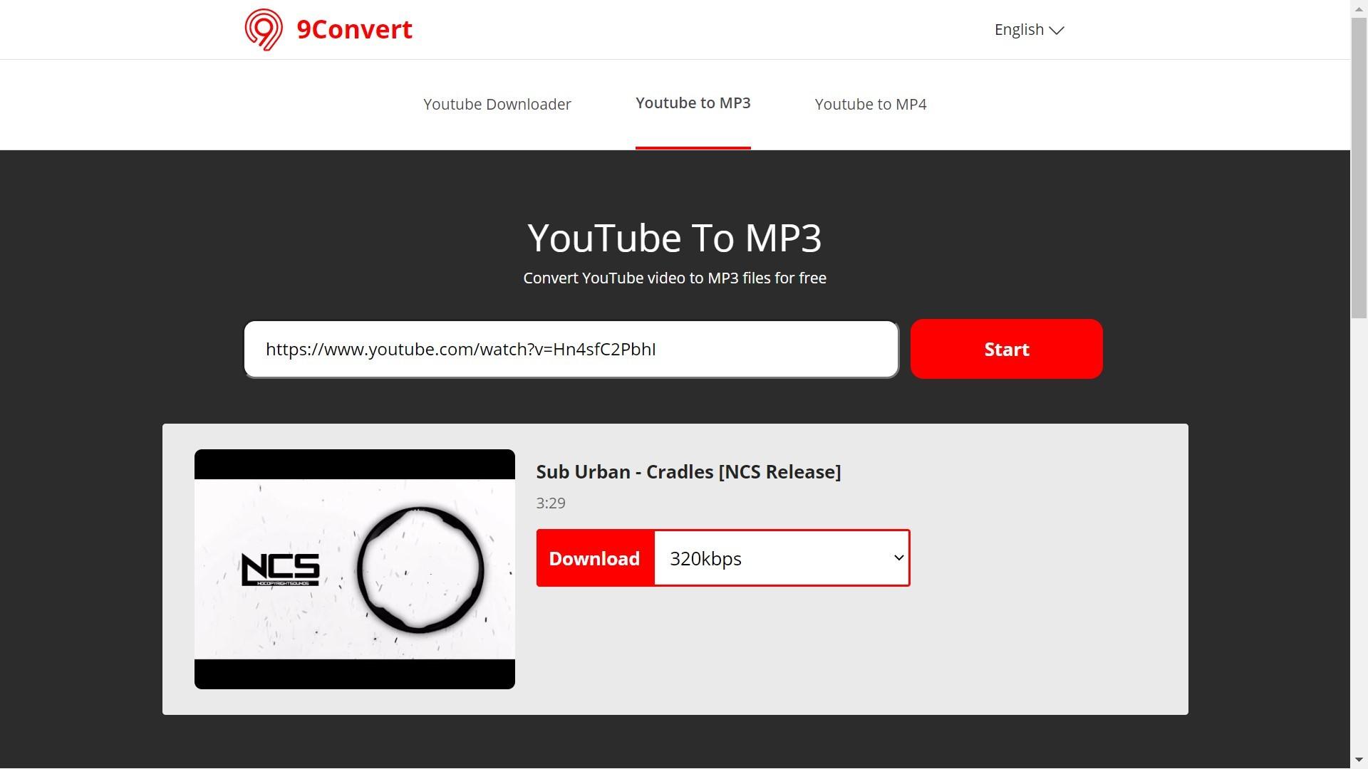 convertitore da youtube a mp3