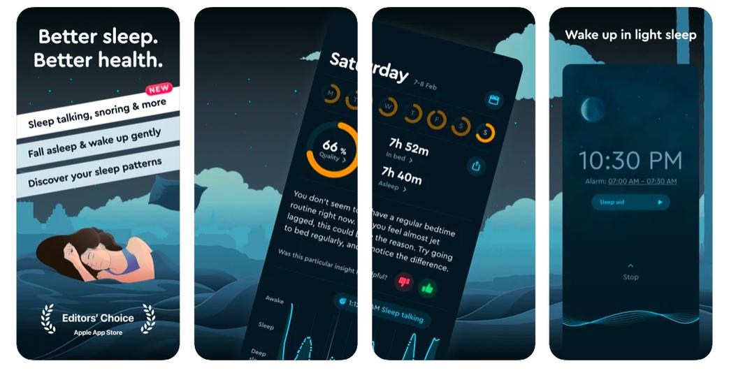 recensione dell'app sleepcycle