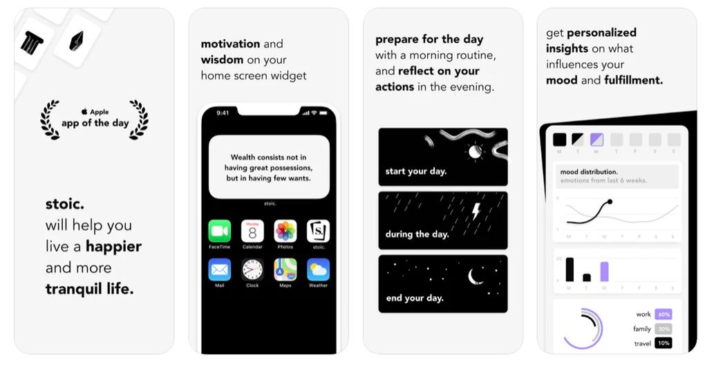 recensione stoica dell'app