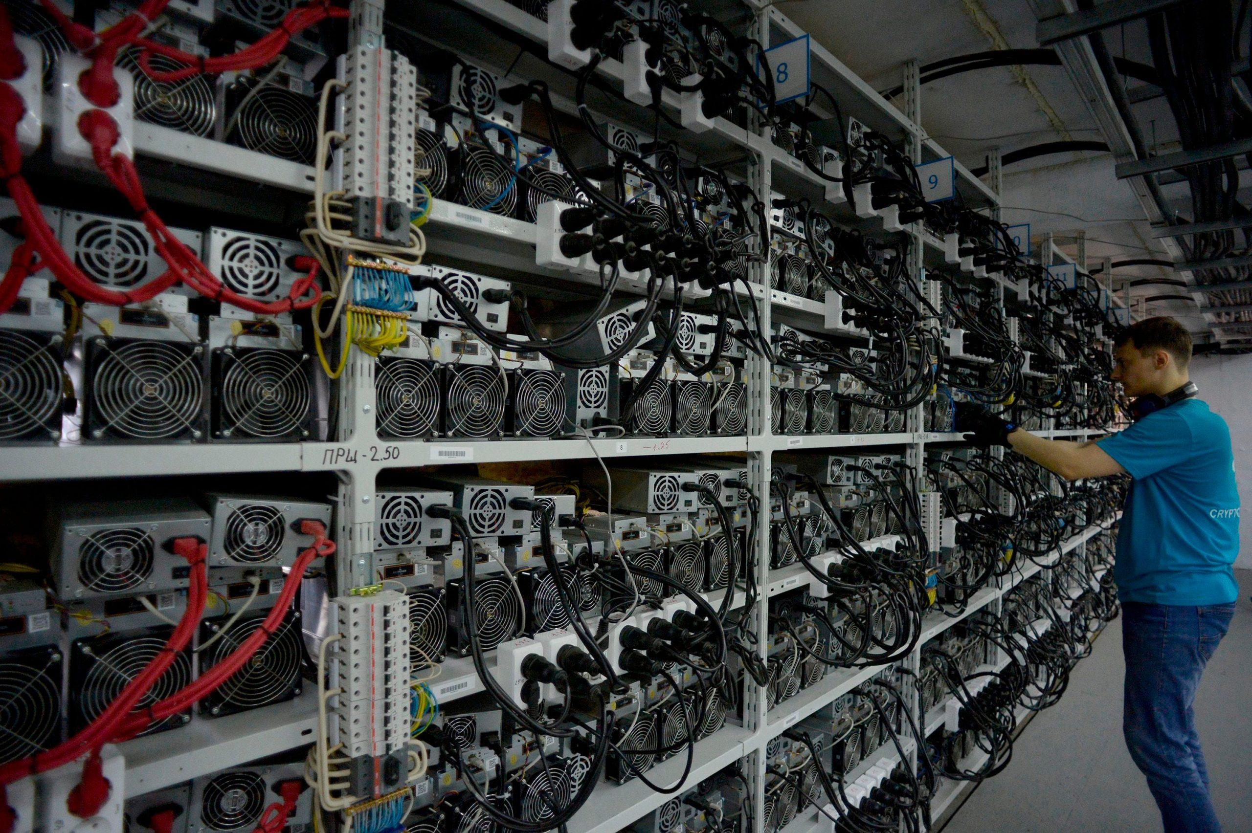come impostare bitcoin mineraria