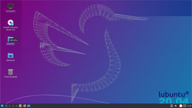 Desktop Lubuntu