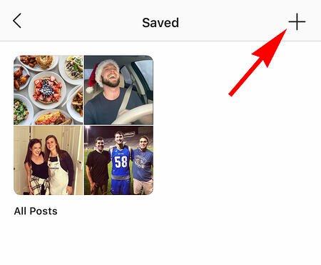 le impostazioni di Instagram di qualcuno per trovare i post salvati
