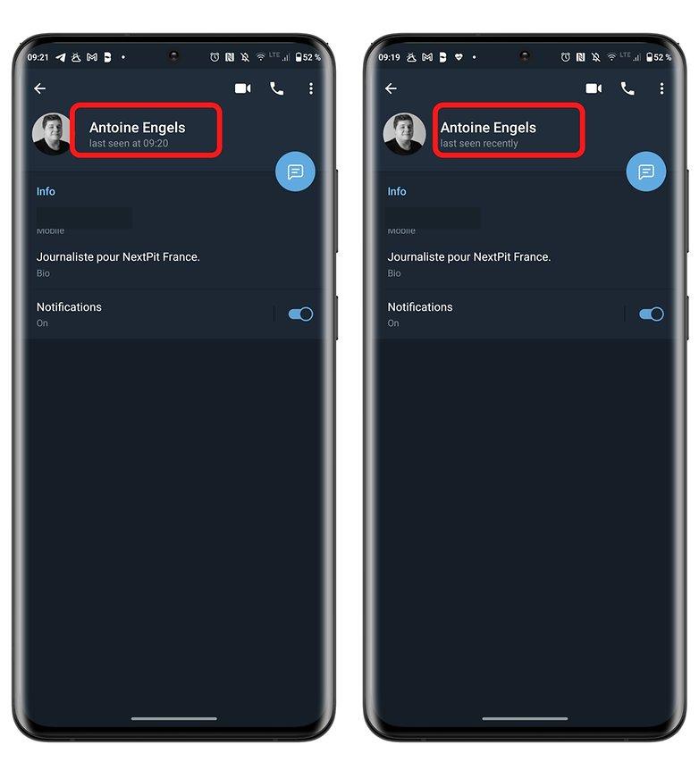 privacy di telegram come vedere la differenza per l'ultima volta