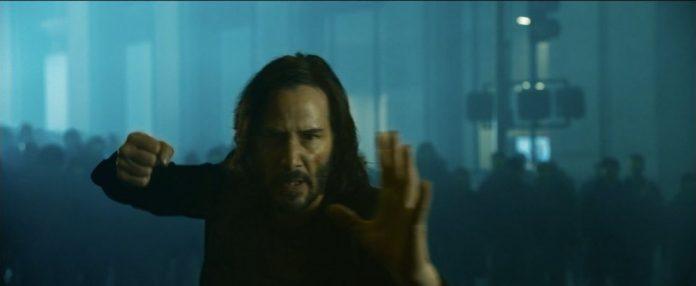 Neo in Matrix 4 (The Matrix Resurrections)
