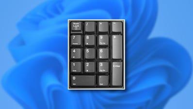 tastierino numerico su Windows 11